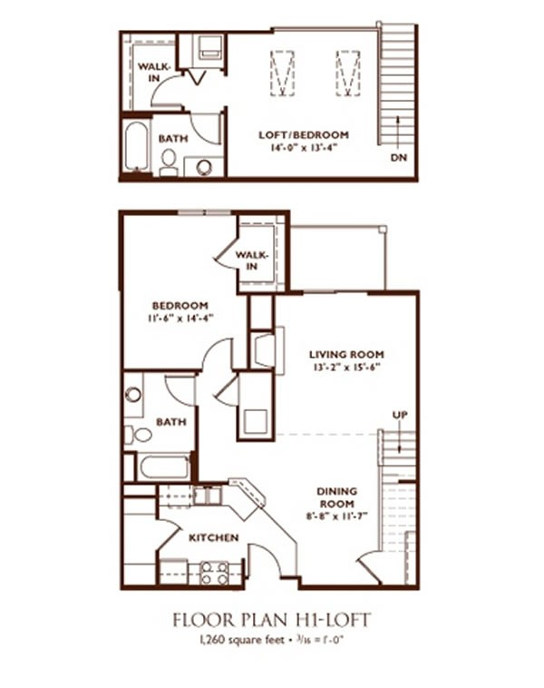 2 bedroom floor plans with loft thefloors co for 2 bedroom studio apartment plans