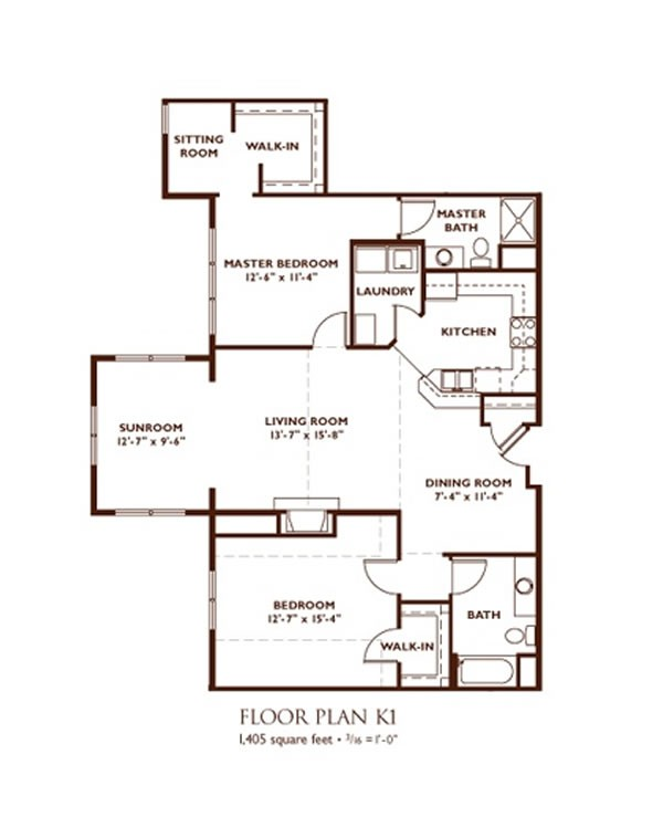 Madison apartment floor plans nantucket apartments madison for Madison homes floor plans