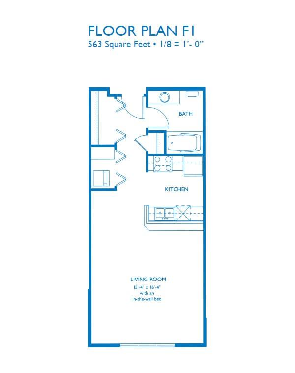 Large  Bedroom Apartment Floor Plans