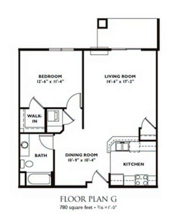 bedroom floor plan plan g 1 bedroom apartment floor plan on